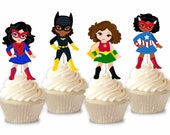 Superhero - Cupcake Toppe...