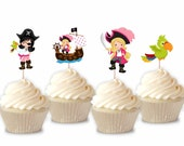 Pirate - Cupcake Toppers ...