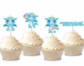 Baby Dragon - Cupcake Top...