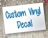Custom Decal