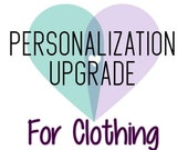 Personalization Upgrade -...