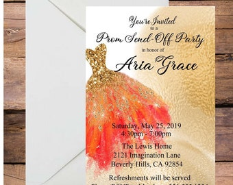 Debutante Invitation Etsy
