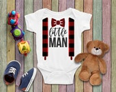 Little Man Onesie