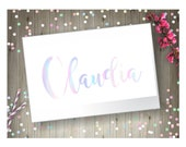 Holographic Name Decal...