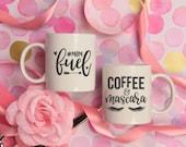 Coffee & Mascara Decal / ...
