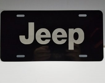 Cooper Name Etched Style License Plate Tag Vanity Novelty Metal 6 By 12 Inches