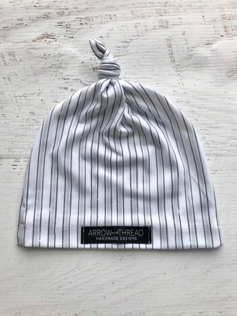 e520e3c19 Baby Boy Gray Knotted Beanie, Hat, Cap, Gender Neutral, Grey Baby Beanies,  Boys, Slouchy Hats, Slouchy Baby Beanie, Knotted Infant Hat