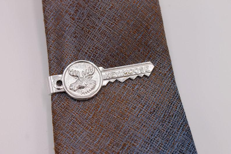 Order of the Moose Key Moose Vintage Tie Bar