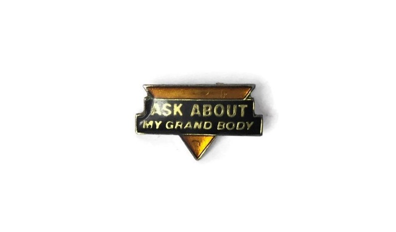 Humorous Marlin Owners Club Badge Chrome And Enamel Car Badges Vehicle Parts & Accessories
