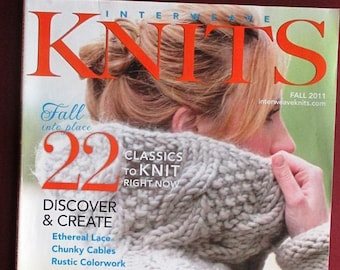 Interweave Knits Holiday Fall 2011 magazine