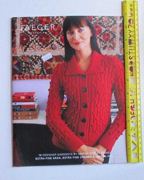 Jaeger Handknits Garment Designs Knit Patterns Etsy