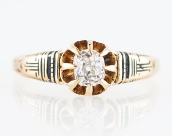 Antique Engagement Ring Etsy