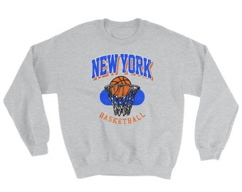 77426d13c39f Vintage New York Basketball Sweatshirt