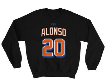 6f0e79d3e New York Mets Pete Alonso Baseball Jersey Sweatshirt