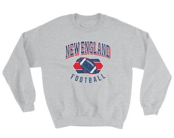 New England Football Sweatshirt d9372b1d13c1