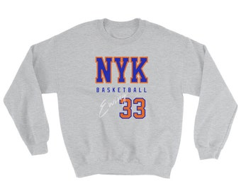 6b0d0346e Patrick Ewing Sweatshirt / New York Basketball / Vintage Ewing Sweater