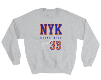 Patrick Ewing Sweatshirt   New York Basketball   Vintage Ewing Sweater c697b947b