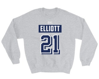 sports shoes 7fe67 2a53c Ezekiel elliott jersey | Etsy