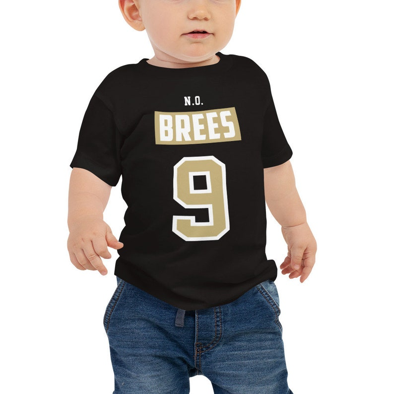 check out 92e87 653a4 Drew Brees Baby Jersey Short Sleeve Tee
