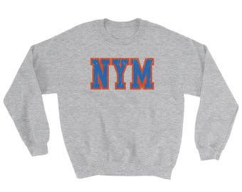 New York, Baseball, Sweatshirt, New York Sweater, Sports Crewneck