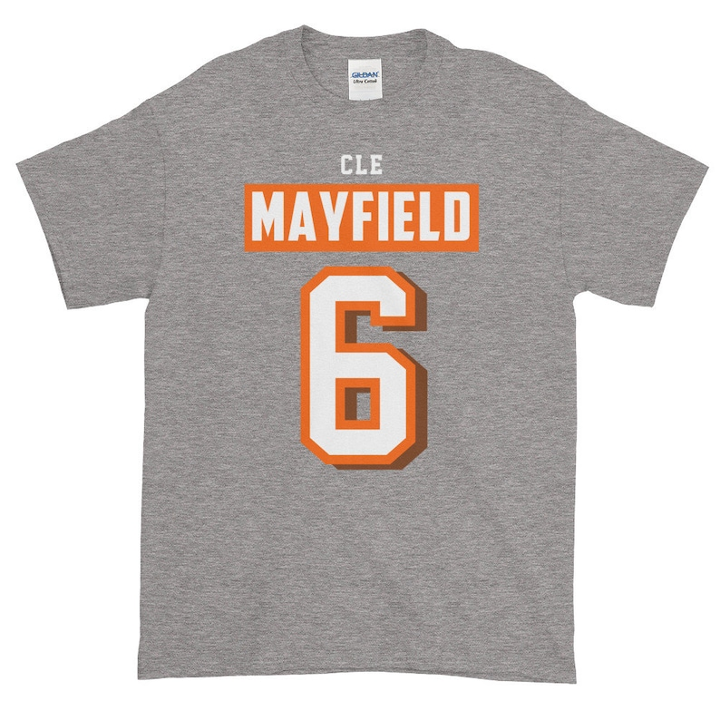 1cf7f5851 Baker Mayfield Shirt Cleveland Football Mayfield Jersey