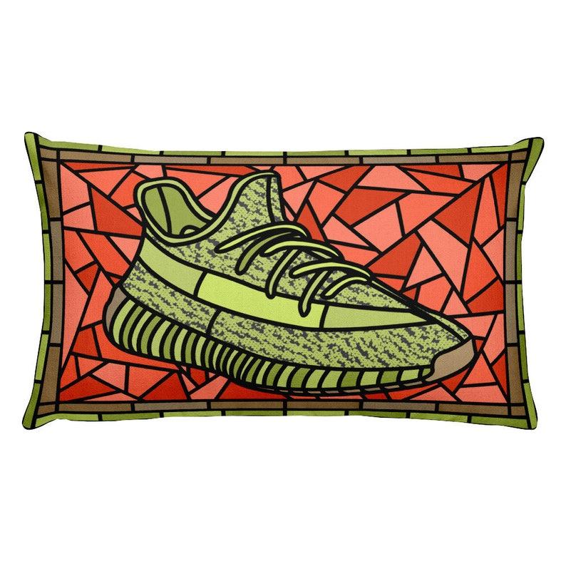 Boost PillowDecorative 350 ItemGift YeezyYeezy Collectors ArtStained Glass V2Sneaker Fan Head KF3u1JlcT