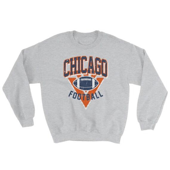 0780749c Vintage Chicago Bears Sweatshirt, Chicago Football Shirt