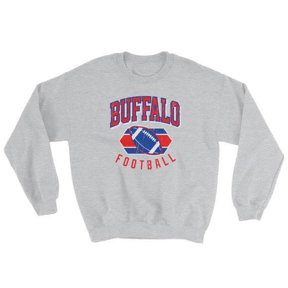 Buffalo Bills Sweatshirt Buffalo Football Sweatshirt Vintage  fd083fae0