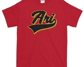 Arizona Baseball Script Short-Sleeve T-Shirt