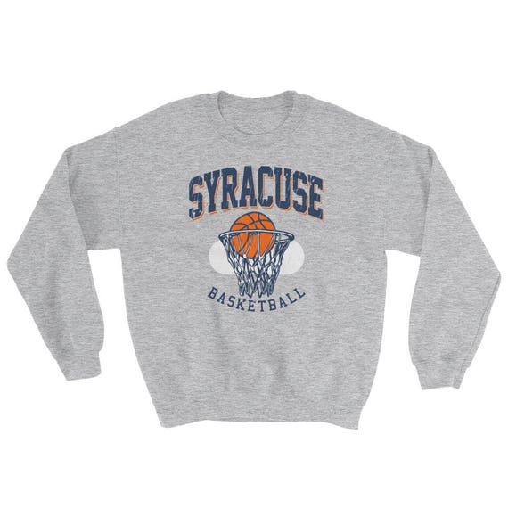 Vintage Syracuse Basketball Sweatshirt Etsy