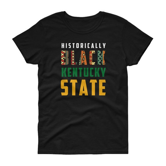 sports shoes 13a57 675fe Kentucky State HBCU Black College University Thorobred Women's Shirt