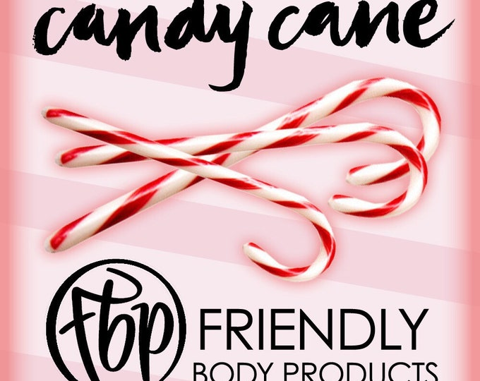 Soy Candle - Candy Cane Candle