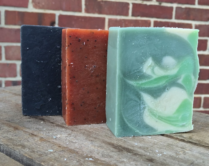 Essential Oil Soap Trio