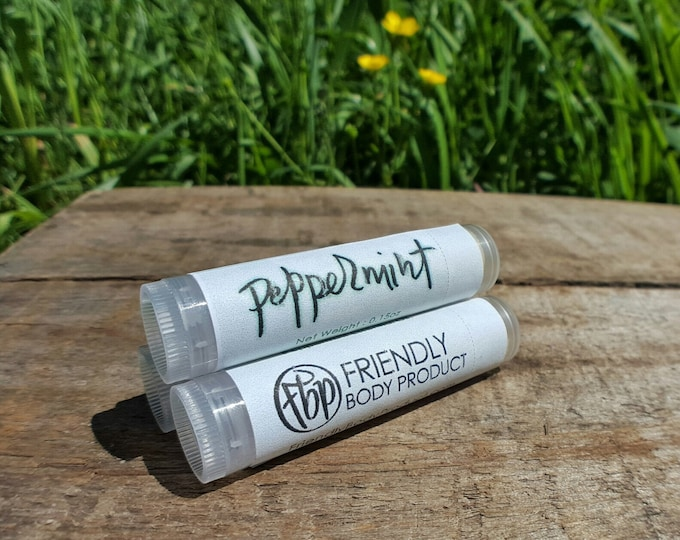 Lip Balm - Peppermint Essential Oil