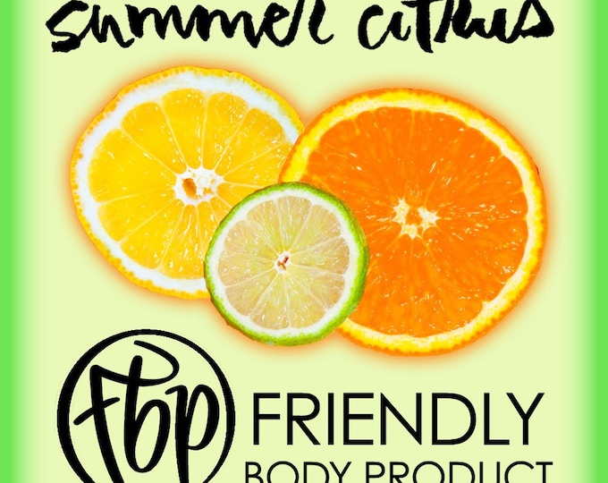 Soy Candle - Summer Citrus Candle
