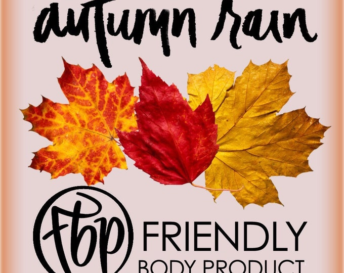 Soy Candle - Autumn Rain Candle