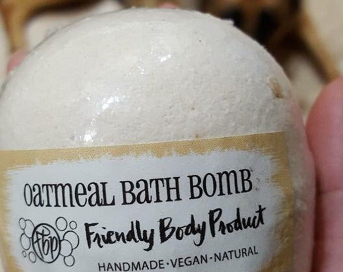 Bath Bomb - Oatmeal Bath Bomb