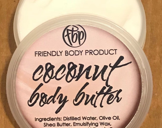 Body Butter - Coconut - Lotion