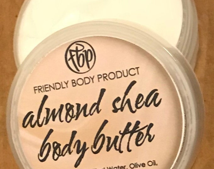 Body Butter - Almond - Lotion