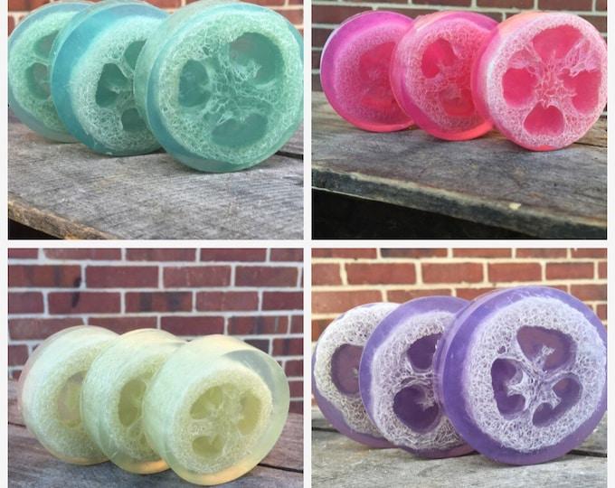 Loofah Soap Gift Set