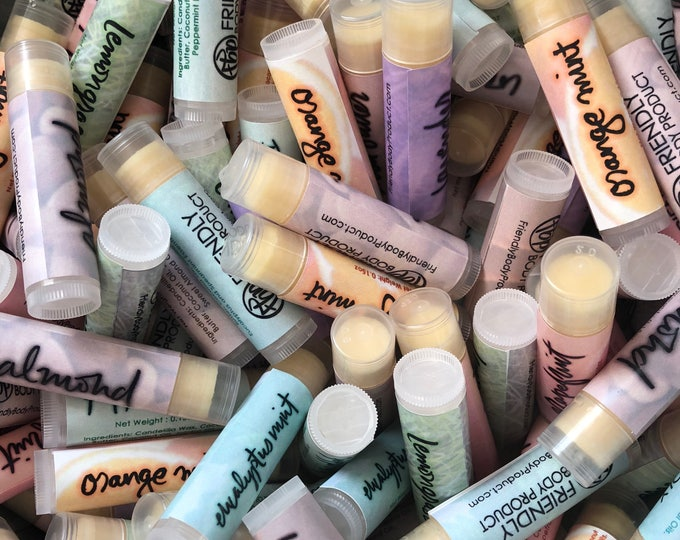 Stock Lip Balms - Wholesale Vegan Lip Balms
