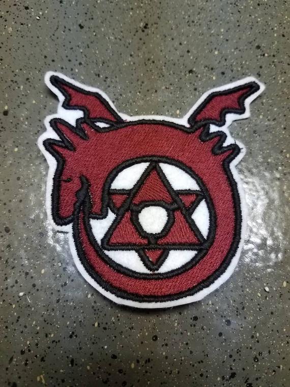 Full Metal Alchemist Sew On Patch Homunculus Symbol