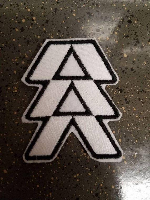 Schicksal Jäger Symbol Annähen Patch Etsy