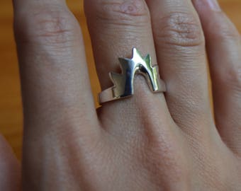 Sterling Silver Nimbus Ring