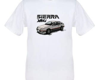 Ford serria xr4i classic retro t shirt