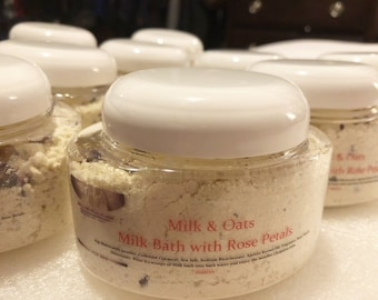 Milk and Oats Milk Bath