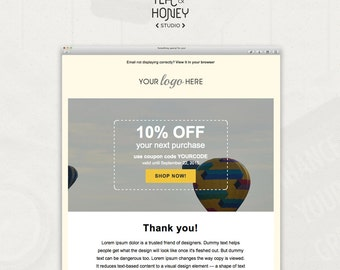 RSS Mailchimp Email Newsletter Template Send Your Latest Blog - Mailchimp template code