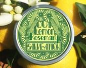 Lemon Rosemary Fresh Salve-ation Lotion Bar