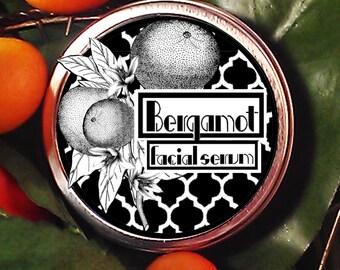 Bergamot All Natural Solid Facial Moisturizer