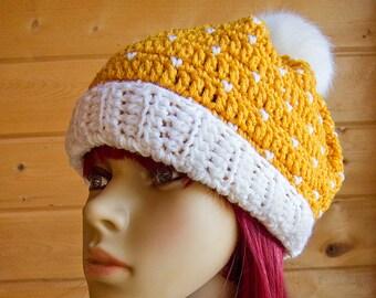 Snow in Summer Hat